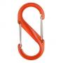 Oboustranná karabina Nite Ize S-Biner – velikost 4, barva oranžová (11kg)