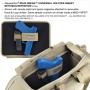 Univerzální CCW pouzdro na suchý zip Maxpedition Sneak (3535) Khaki