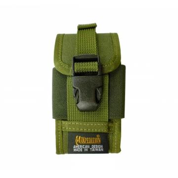 Pouzdro Maxpedition na telefon s klipem (0112) / 12.7x7 cm OD Green
