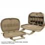 Přepravní taška na zbraň a zásobníky Maxpedition Pistol Case velké (1309) / 20x30 cm Black