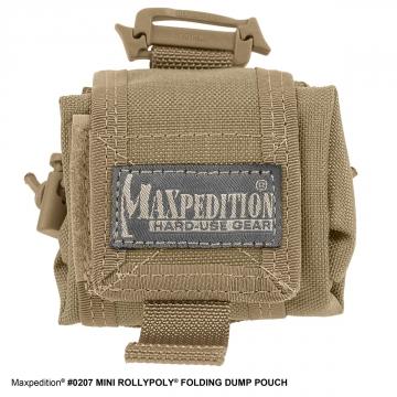 Pouzdro na láhev Mini Rollypoly (0207) / 20x10 cm Khaki