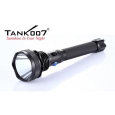 Svítilna Tank007 TC60 U2 / Studená bílá / 1000lm (2h) / 500m / 4 režimů / IPx8 / 2x18650