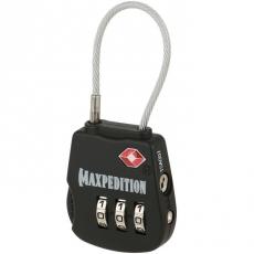 Zámek s kombinací Maxpedition Tactical Luggage Lock (TSALOCB)