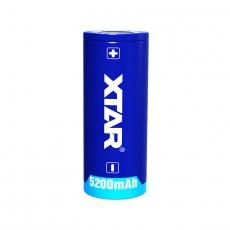 XTAR 26650 Li-Ion 5200mAh 7A Dobíjecí, chráněné baterie
