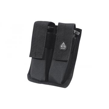 Pouzdro na zásobníky PVC-MP2 UTG-Leapers Dual Pistol Mag Pouch Black