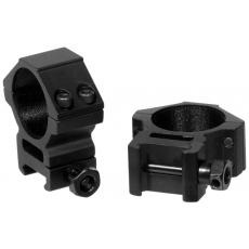 Montáž pro optiku 30mm na Picatinny - kroužky UTG RGWM-30M4 Accushot Medium (2ks)