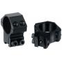 Montáž pro optiku 30mm na Dovetail - kroužky UTG RGPM-30M4 Accushot Medium (2ks)