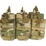 Tři dvojité sumky na zásobníky M4 Viper Tactical Duo Mag Pouch - Treble VCAM