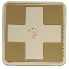 Nášivka na suchý zip Viper Tactical Medic Coyote /  5x5cm