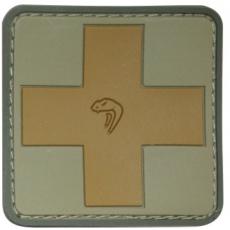 Nášivka na suchý zip Viper Tactical Medic VCAM /  5x5cm