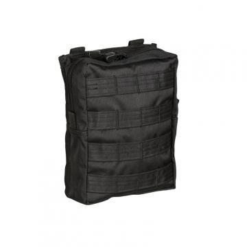 Pouzdro MilTec MOLLE Belt Pouch Large / 19x7x23cm Black