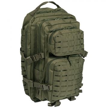 Batoh MilTec US Laser Cut Assault L / 36L / 51x29x28cm Green