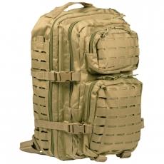 Batoh MilTec US Laser Cut Assault L / 36L / 51x29x28cm Coyote