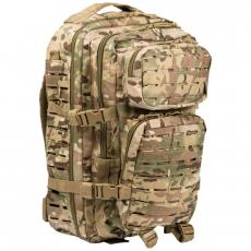 Batoh MilTec US Laser Cut Assault L / 36L / 51x29x28cm Multitarn