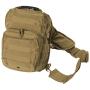 Batoh přes rameno MilTec Assault S / 10L / 30x22x13cm Coyote