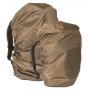 Pláštěnka na batoh až do 80L MilTec - Coyote
