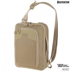 Taška přes rameno Maxpedition Valence (VAL) AGR / 10L / 28x14x37 cm Tan