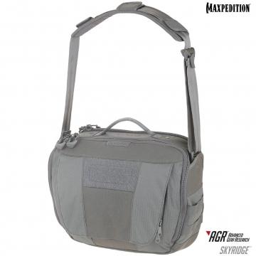Taška Maxpedition AGR Skyridge Tech Messenger Bag 12.5L / 38x20x28 cm Grey