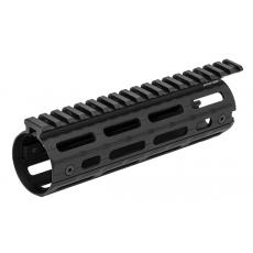 Předpažbí UTG PRO AR15 Super Slim M-LOK Drop-in Carbine Length Rail (MTU001SSM)