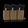 Elastická trojitá sumka na zásobníky M4 na suchý zip Viper Tactical VX Triple Rifle Mag... Dark Coyote