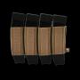 Elastická sumka na zásobníky SMG na suchý zip Viper Tactical VX Quad SMG Mag Sleeve Dark Coyote