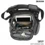 Brašna Maxpedition Entity Crossbody Bag Small (NTTCBS) / 9L /  21x13x28 cm Charcoal