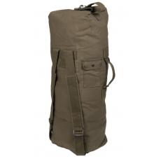 Sumka MilTec US COTTON DOUBLE STRAP DUFFLE BAG / 75L / 100x50cm Green