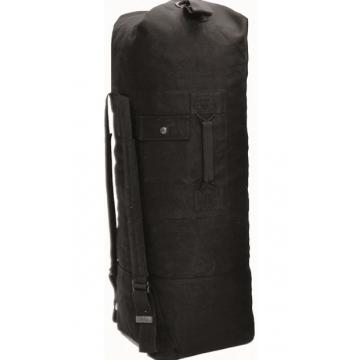 Sumka MilTec US COTTON DOUBLE STRAP DUFFLE BAG / 75L / 100x50cm Black