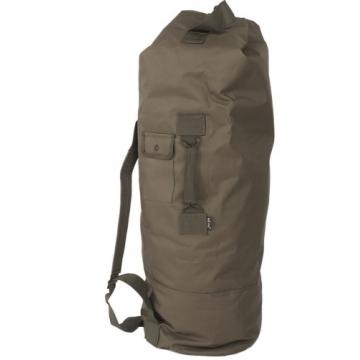 Sumka MilTec US POLYESTER DOUBLE STRAP DUFFLE Bag 75L / 100x50cm Green