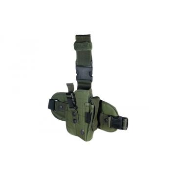 Taktické stehenní pouzdro UTG OD Green
