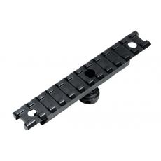 Lišta na transportní rukojeť AR15, 12 slotů, STANAG UTG (MNT-993)