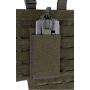 Pouzdro na zásobníky pro M4/M16/AR15 na suchý zip MilTec (134961) Green