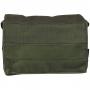Pouzdro na suchý zip MFH Mission III / 19x13x4,5cm OD Green