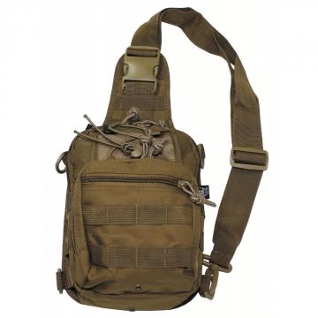 Batoh MFH Shoulder Bag / 7L / 19x27x13cm Coyote Tan