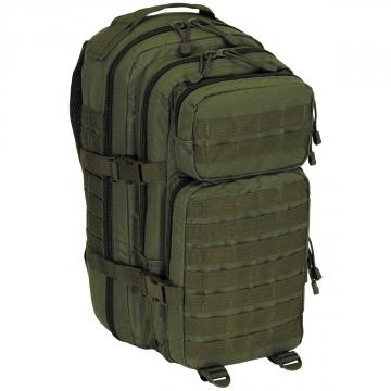 Batoh MFH US Assault I Basic / 30L / 23x44x24cm Black