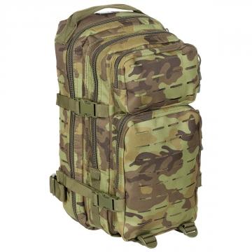 Batoh MFH US Assault I Laser / 30L / 23x44x24cm M95 CZ camo