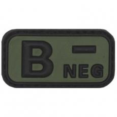 Nášivka na suchý zip MFH B- OD-Green / 5x2,5cm