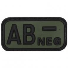 Nášivka na suchý zip MFH AB- OD-Green / 5x2,5cm