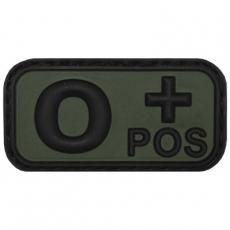 Nášivka na suchý zip MFH 0+ OD-Green / 5x2,5cm