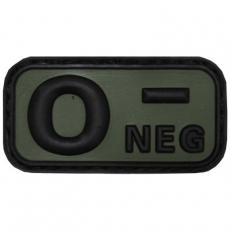Nášivka na suchý zip MFH 0- OD-Green / 5x2,5cm
