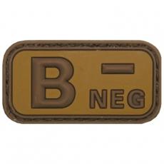 Nášivka na suchý zip MFH B- Khaki / 5x2,5cm