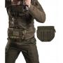Sumka MilTec na nosič plátů nebo vestu / 23x4,5x16cm Green