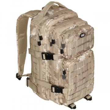Batoh MFH US Assault I / 30L /  23x44x24cm Vegato-Desert