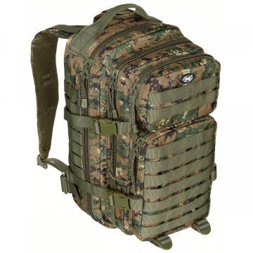 Batoh MFH US Assault I / 30L /  23x44x24cm Digital Woodland