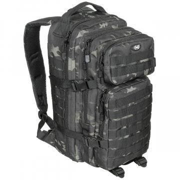 Batoh MFH US Assault I / 30L /  23x44x24cm Combat-Camo
