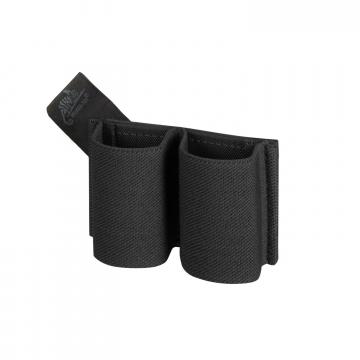 Pouzdro na suchý zip Helikon DOUBLE ELASTIC INSERT Black