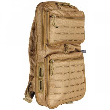 Batoh MFH Compress OctaTac / 7-15L / 23x42x7-24cm Coyote Tan