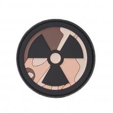 Nášivka na suchý zip 101 Inc. Nuclear desert / 68mm
